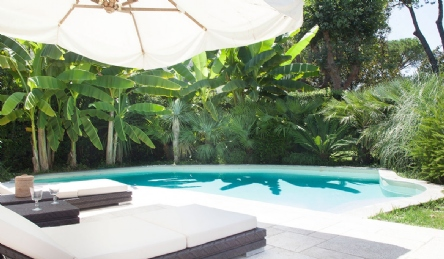villa in quartiere VIP Forte dei Marmi: Planimetria
