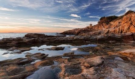 Вилла с частным выходом к морю: Наружный вид