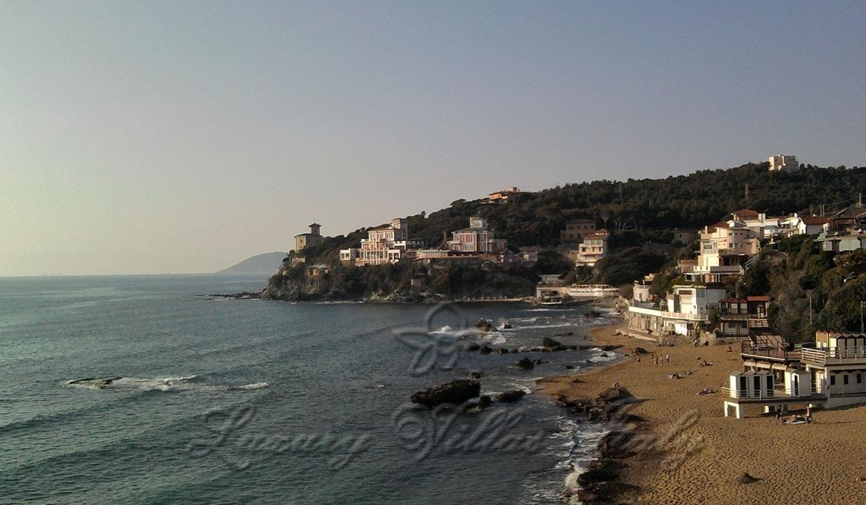 Magnificent villa by the sea in Castiglioncello: Outside view