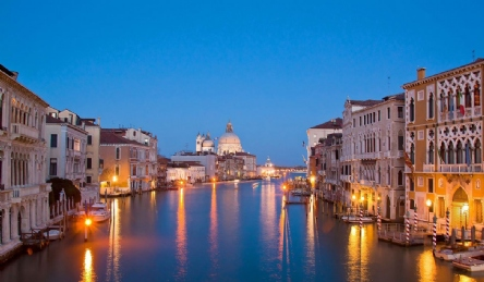 Magnificent apartment overlooking the Grand Canal: Outside view