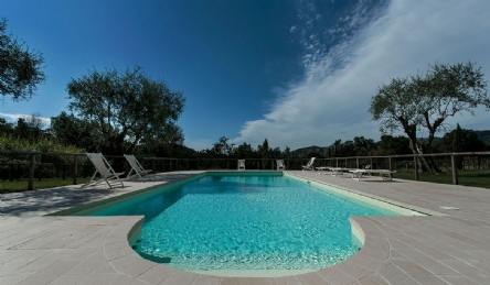 Exclusive villa for sale in the hills of Versilia near Forte dei Marmi: Panoramic view