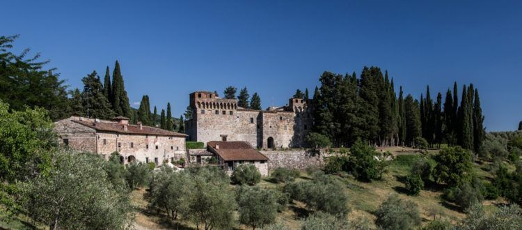 Wine Tasting in a Tuscan Castle