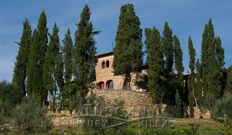 Chianti prestigious estate for sale: Outside view
