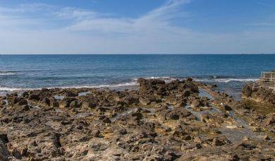 Villa di lusso fronte mare in vendita a Castiglioncello con piscina e parco: Spiaggia