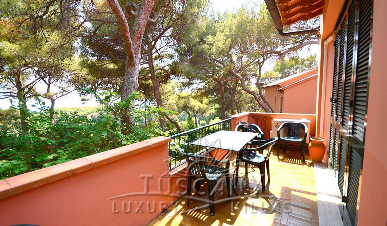 Villa Panoramica Sul Mare Di Castiglioncello Villa