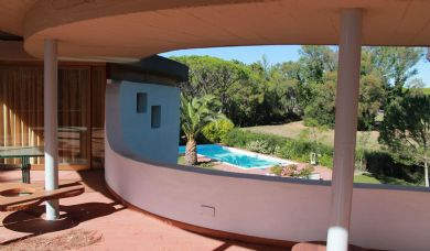 Elegant luxury villa for sale in Punta Ala with pool and garden: Internal view