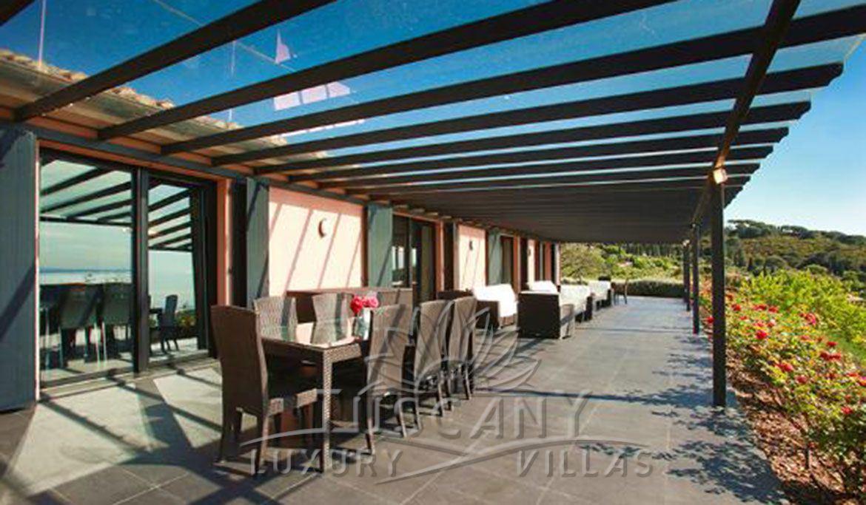 Villa Con Piscina Panoramica A Porto Ercole Villa Con