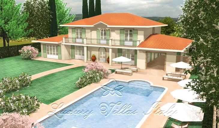 Villa Fontana: Outside view