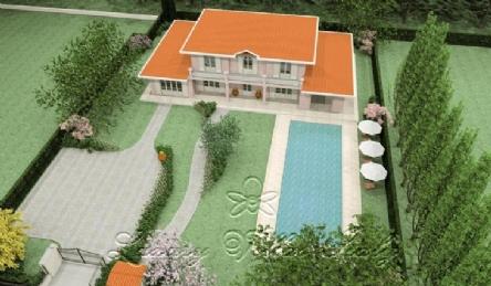 Элитная вилла новой постройки в центре: Планировка