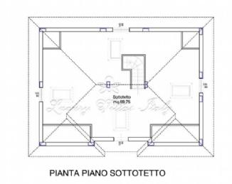 Villa Fontana: Plan