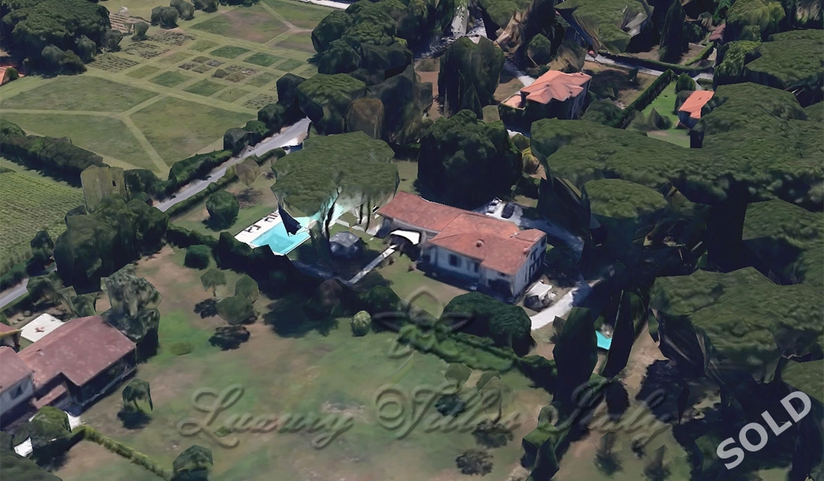 Villa Bufalini - SOLD: Outside view