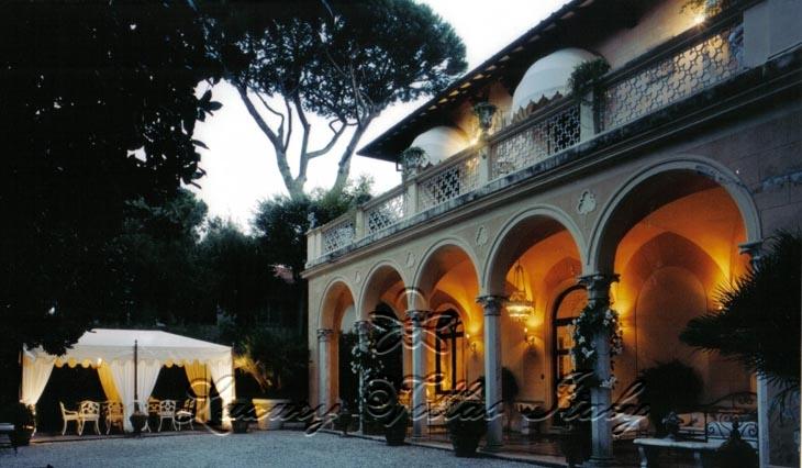 Villa Liberty: Outside view