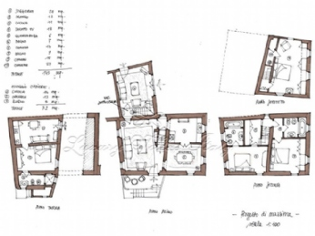 Villa in Versilia: Plan