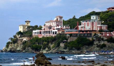 Villa liberty vista mare: Vista esterna