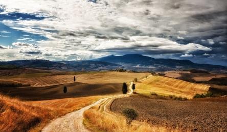 Villa storica nel sud della Toscana: Vista esterna
