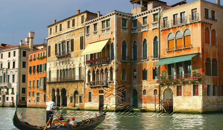 Historic venetian palace hotel: Outside view