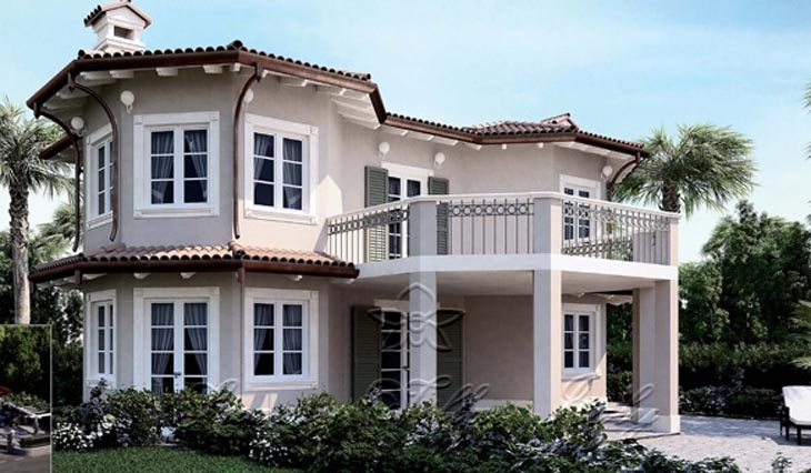 New villa for sale in Forte dei Marmi near the sea: Outside view