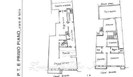 Palazzo Hotel sul Canal Grande: Planimetria