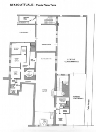 Cannaregio historic palace: Plan