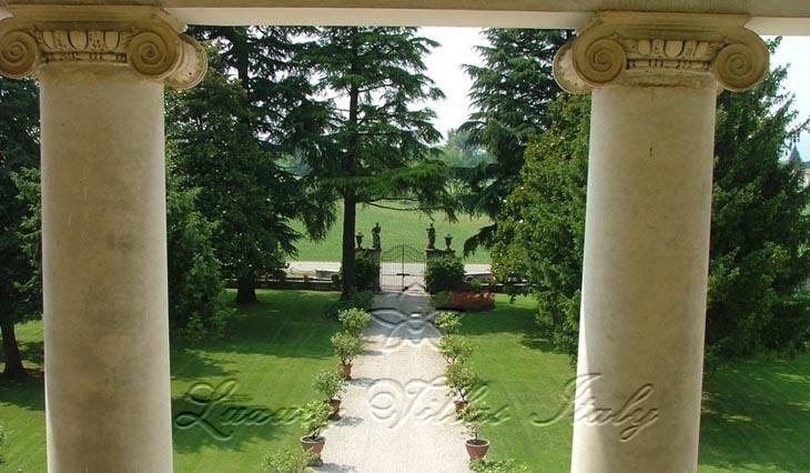 Неоклассическая Палладианская вилла в Венето: Наружный вид