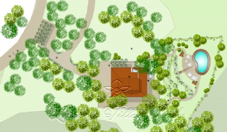 Panoramic villa: Plan