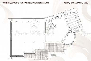 вилла на море в Форте Деи Марми с дорогой отделкой: Планировка