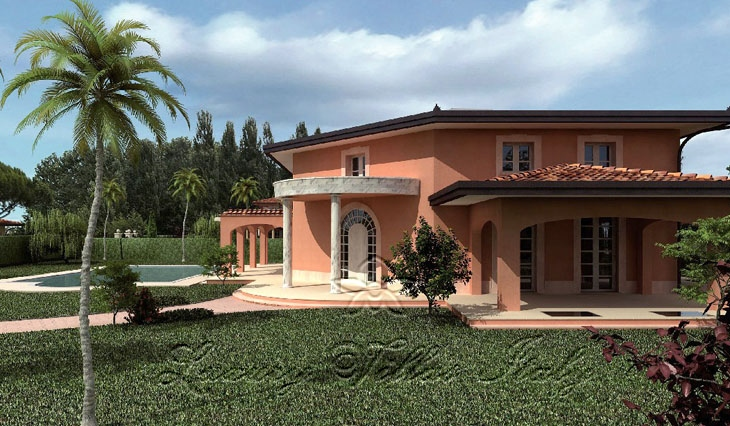 new villa in Forte dei Marmi - Roma Imperiale: Outside view
