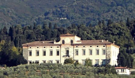 Historic villa near Florence: Plan