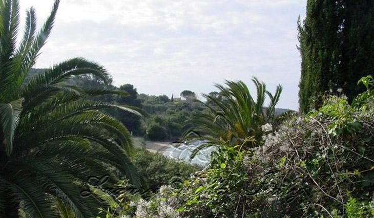 Villa di lusso con spiaggia privata: Vista esterna