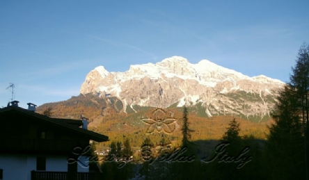 New apartment in villa on the Alps: Outside view