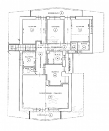 Panoramic apartment in the Alps: Plan