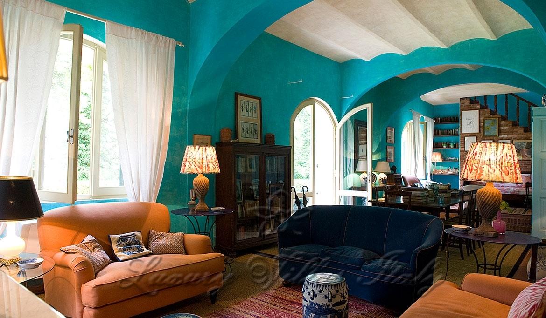 Роскошная вилла в аренду на холмах Форте-дей-Марми: Наружный вид
